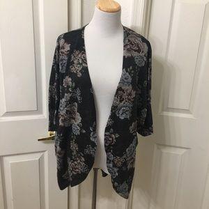 Arizona Jean Co. floral cardigan